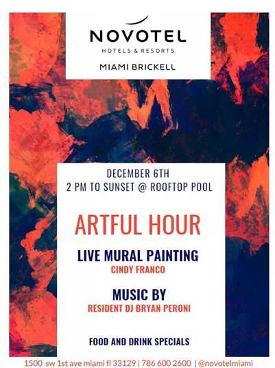 Novotel Brickell Artful Hour