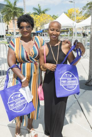 Attendees of the Greater Fort Lauderdale Food & Wine Festival