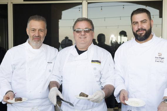 Chef Angelo Elia, Richie Piper, Michael Mariconda