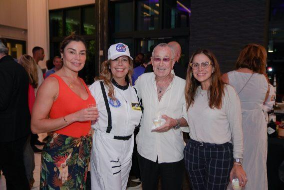 Paula Nehls. Sonia Marks, Helio Gusmao, & Paola Gutierrez