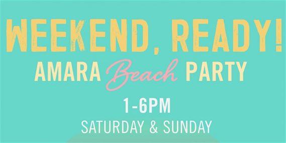 Amara Beach Party