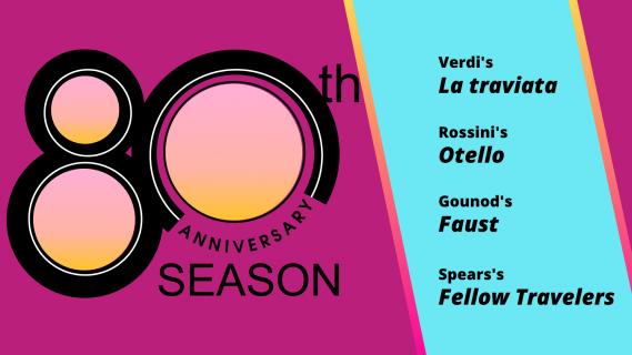 Florida Grand Opera Announces its 80th Anniversary Season