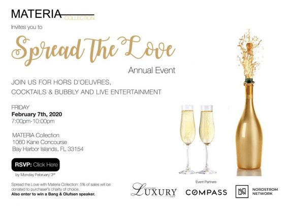 Materia Collection Annual Spread the Love Event