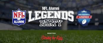 NFL Alumni Legends Party