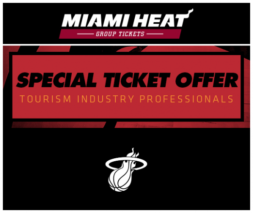 Tourism Industry Professional Nights with the HEAT!