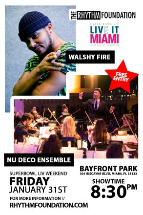 Walshy Fire & Nu Deco Ensemble