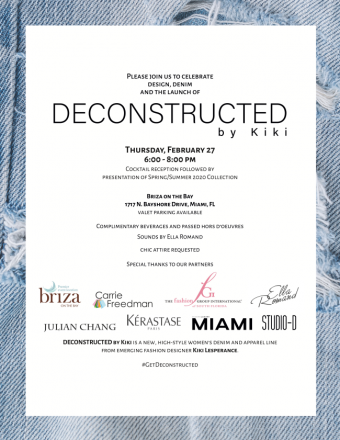 DECONSTRUCTED by Kiki Launch Event