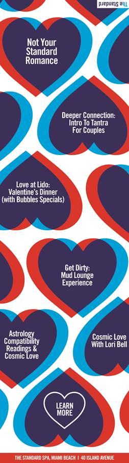 Spend Valentine's Day at The Standard Spa, Miami Beach