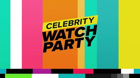 All-New Series CELEBRITY WATCH PARTY Adds The Osbournes, Tyra Banks and Reggie Bush