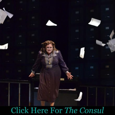"""FGO Presents: """"The Consul"""" Sunday Matinee Premiere"""