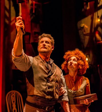 Sweeney Todd, with Aloysius Gigl (Best Actor, Musical) and Jeni Hacker (Best Actress, Musical)  (Photo Credit: Justin Namon)