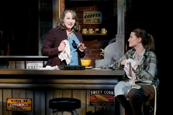 The Spitfire Grill, with Amy Miller Brennan (Best Supporting       Actress, Musical) and Ashley Rose  (Photo Credit: Samantha Mighdol)