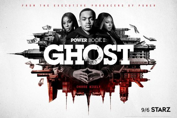 """""""Power Book II: Ghost"""" Premiere From Executive Producers  Courtney A. Kemp and Curtis """"50 Cent"""" Jackson,  Outperforms """"Power"""" Final Season Premiere by 36%"""