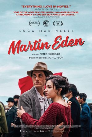 MARTIN EDEN, sweeping romantic Italian epic based on Jack London classic novel