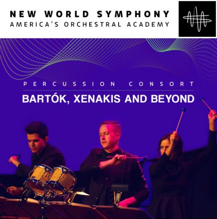PERCUSSION CONSORT: BARTÓK, XENAKIS AND BEYOND