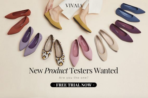 "VIVAIA, an up-and-coming brand of eco-friendly footwear, has launched a ""New Product Testers Wanted"" campaign on November 24th, 2020."