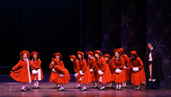 Actors' Playhouse's Musical Theatre for Young Audiences production of Madeline's Christmas. Photo by Alberto Romeu.