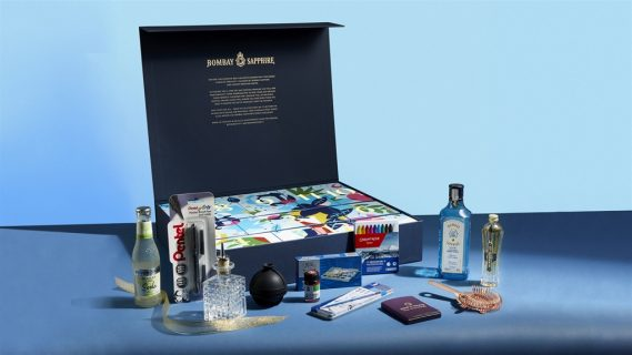 The 12 Days of Creativity Calendar from Bombay Sapphire gin