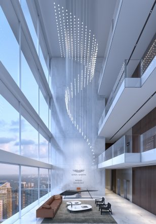 Sky Lobby_Aston Martin Residences